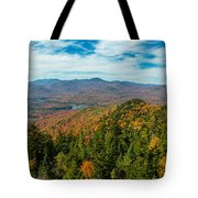 View From Goodnow Tote Bag
