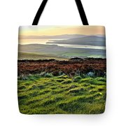 View From Grianan Fort Tote Bag