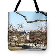 View From John F Kennedys Grave Tote Bag