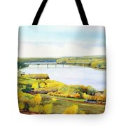 View From Lover's Leap Tote Bag