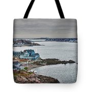 View From Marblehead Lighthouse Tote Bag