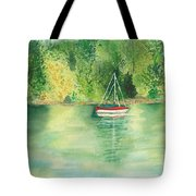 View From Millbay Ferry Tote Bag