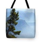View From Montserrat, Spain Tote Bag