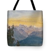 View From Mount Pilatus Tote Bag