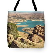 View From Mt Scott Tote Bag