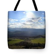View From Nebias Tote Bag