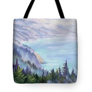 View From Nepenthe Tote Bag