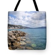 View From North Wall - Lyme Regis Tote Bag