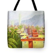 View From Our Balcony Tote Bag