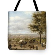 View From Parisian Heights Tote Bag