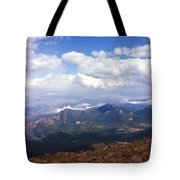 View From Pikes Peak 1964 Tote Bag