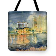 View From Quay Singapore Tote Bag