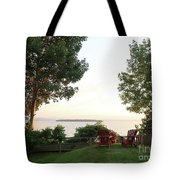 View From Ring Dang Doo South Hero Vermont Tote Bag