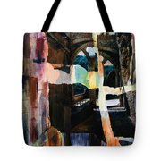 View From Rocamadour Tote Bag