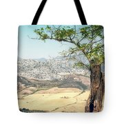 View From Ronda Spain Tote Bag