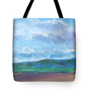 View From Sandy Bay Exmouth Tote Bag