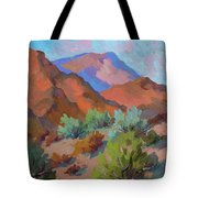 View From Santa Rosa - San Jacinto Visitor Center Tote Bag