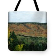 View From Shinning Bank  Tote Bag