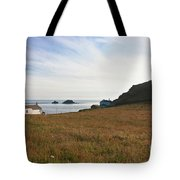 View From St Helen's Oratory Cape Cornwall Tote Bag