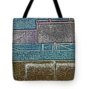 View From The Bank 3 Tote Bag