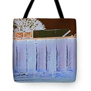 View From The Bank 4 Tote Bag