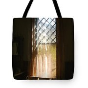 View From The Bathroom Window Tote Bag