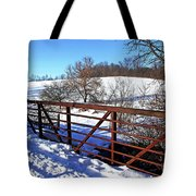 View From The Bridge Tote Bag