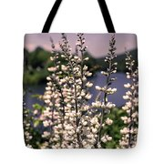 View From The Bridge Of Flowers Tote Bag