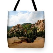 View From The Crags Tote Bag