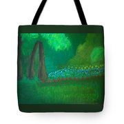 View From The Front Porch Tote Bag