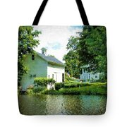 View From The Mill Pond Centerbrook Ct Tote Bag
