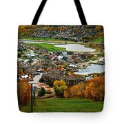View From The Mountain Tote Bag