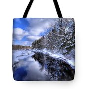 View From The North Street Bridge Tote Bag