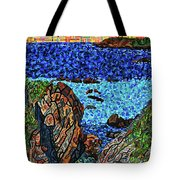 View From The Pacific Coast Highway Tote Bag