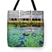 View From The Pier Tote Bag