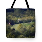 View From The Pond At The Hacienda Tote Bag