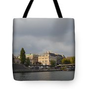 View From The Seine Tote Bag
