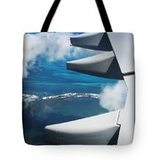 View From The Sky Tote Bag