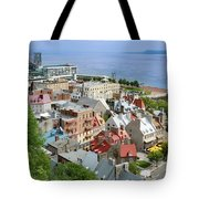 View From The Wall Tote Bag