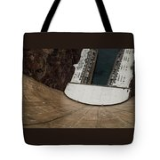 View From Top Of Hoover Dam Tote Bag