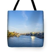 View From Tower Bridge Tote Bag