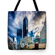 View From Tribeca Tote Bag