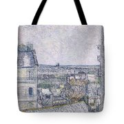 View From Vincent's Room In The Rue Lepic Tote Bag
