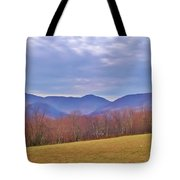 View From Von Trapps Lodge 2 Tote Bag
