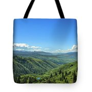 View From White Bird Hill Tote Bag
