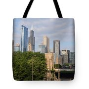 View Of A City Tote Bag