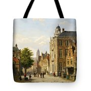 View Of A Dutch Street In Summer Tote Bag