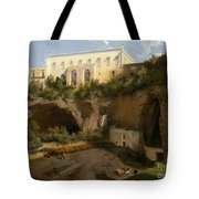 View Of A Villa, Pizzofalcone, Naples Tote Bag