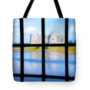 View Of A Wales' Castle Tote Bag