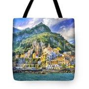 View Of Amalfi Tote Bag